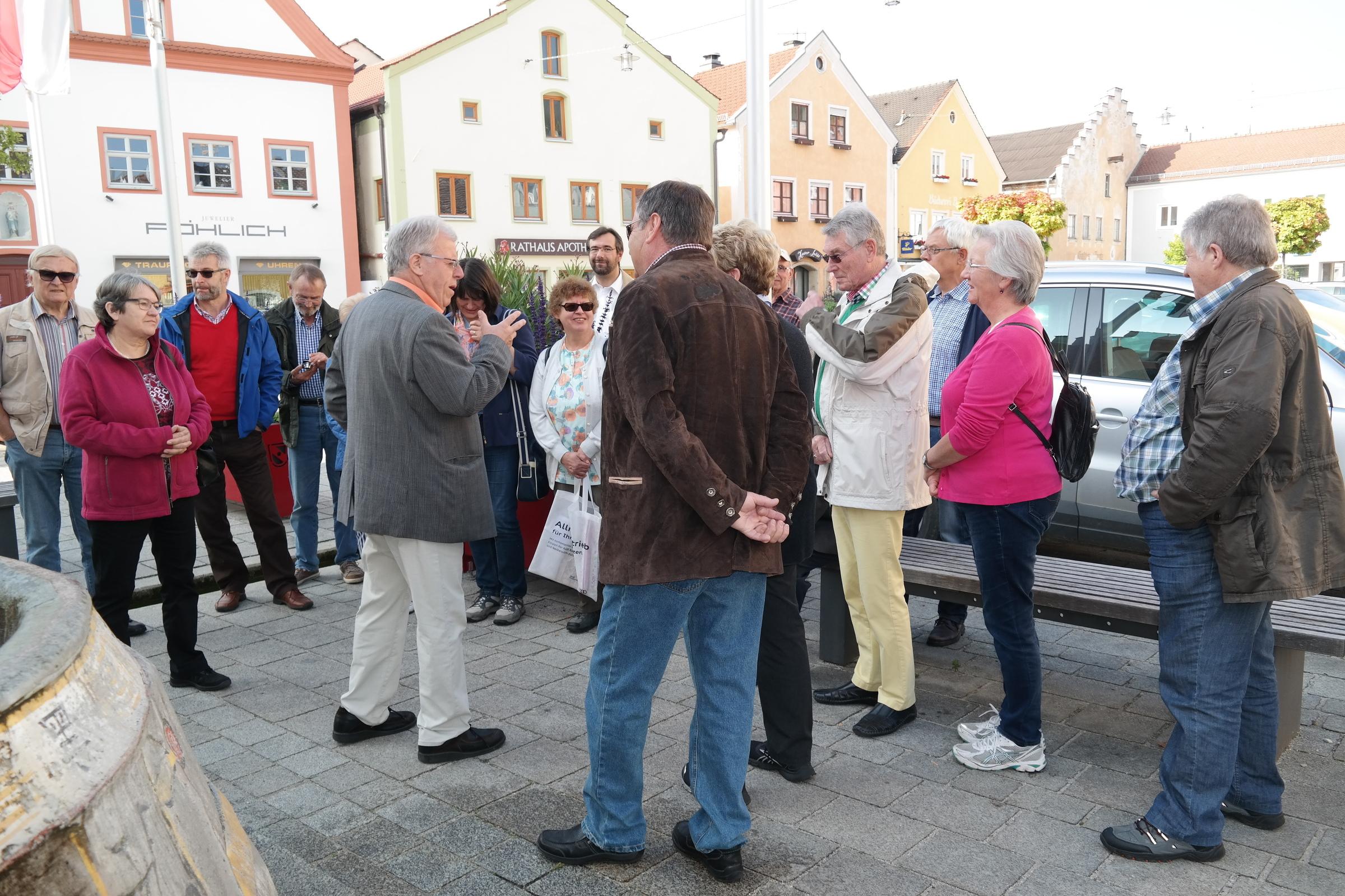 Ausflug 2014 nach Dietfurt